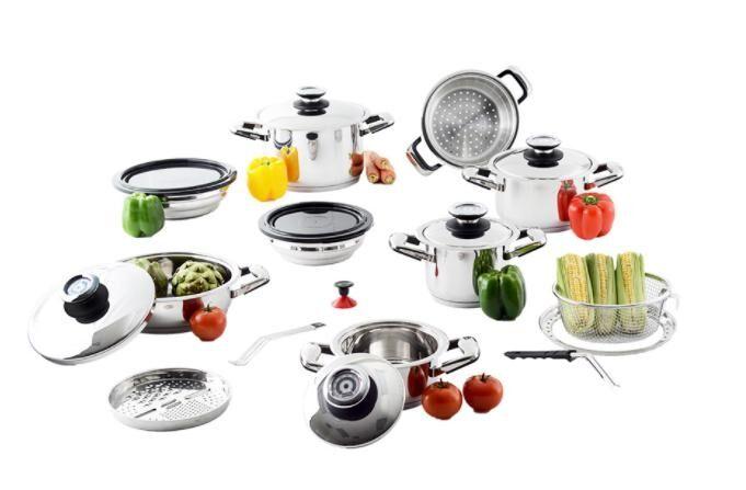 View - TyentUSA Professional Platinum 21-Piece Cooking System