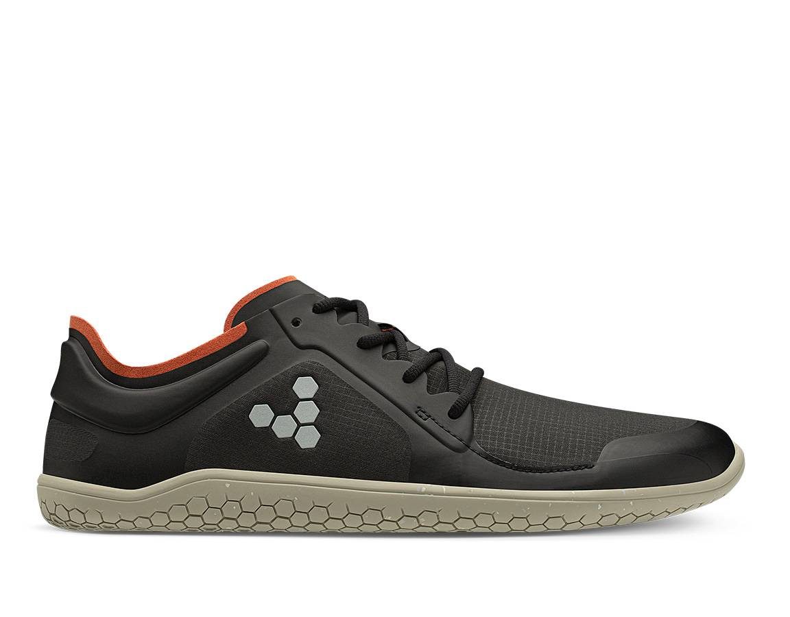 Vivobarefoot Primus Lite II Recycled Winter Mens - Obsidian 46