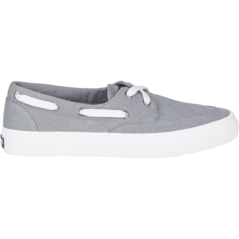 Sperry Top-Sider Women's Crest Boat Shoe Size: 6W, Grey