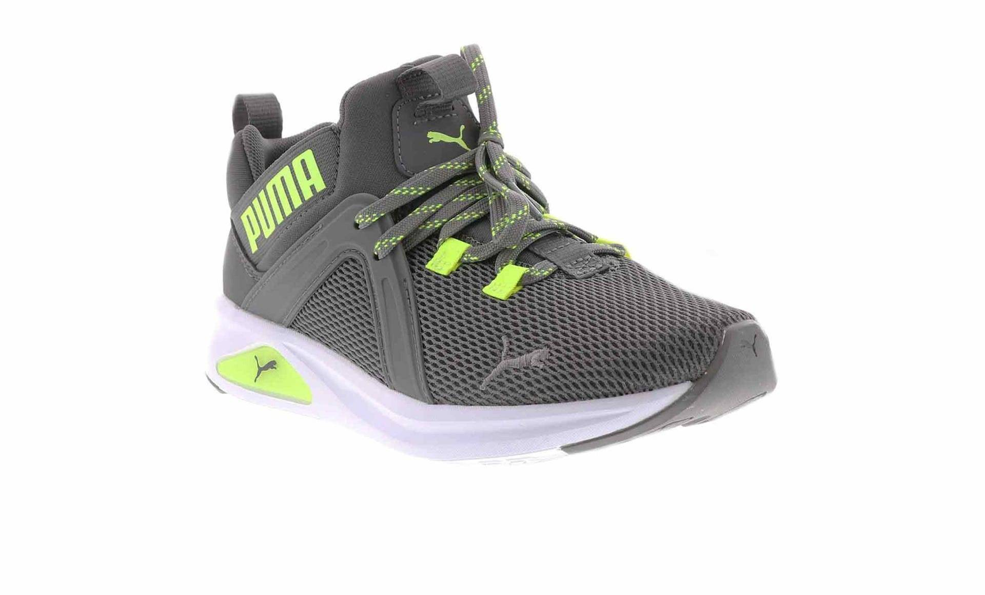 Puma Enzo 2 Weave Jr (4-7) Boys' Running Shoe