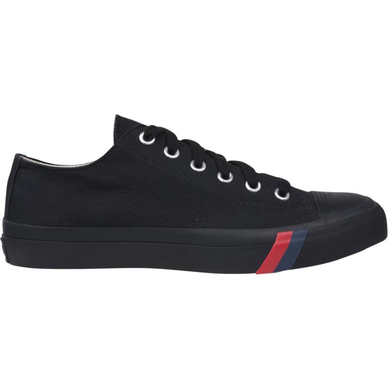 Prokeds Unisex Royal Lo Size: 10.5 Medium Width, Black / Black