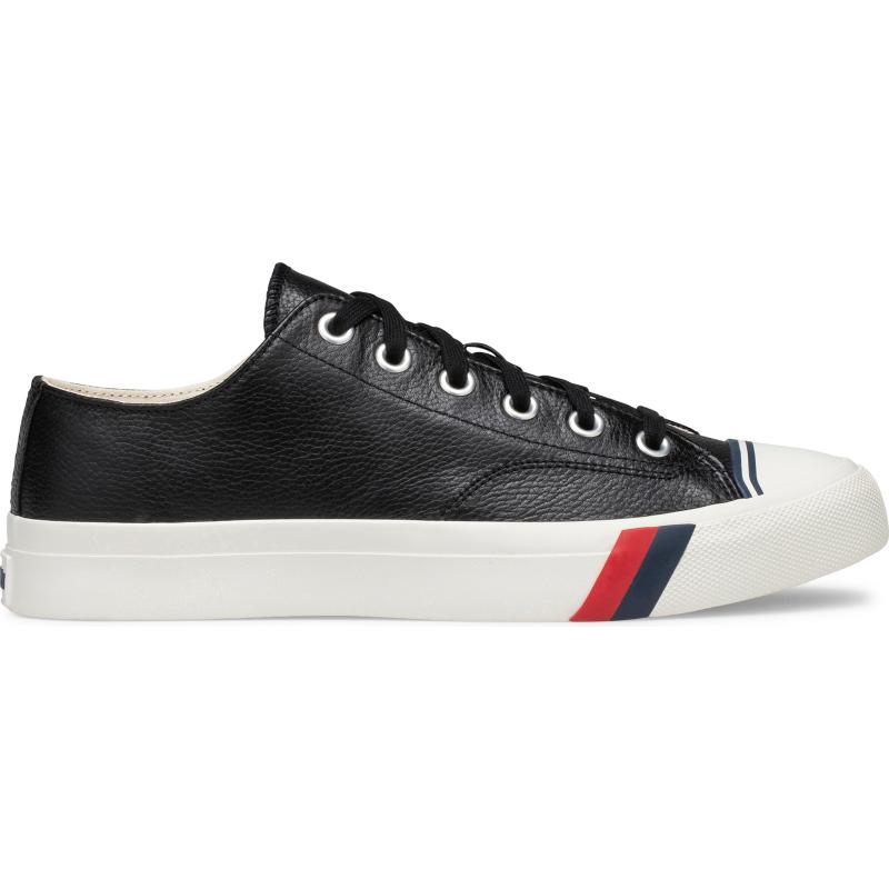 Prokeds Unisex Royal Lo Classic Leather Size: 13 Medium Width, Black