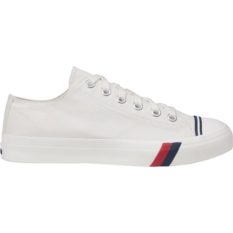 Prokeds Unisex Royal Lo Size: 3.5 Medium Width, White