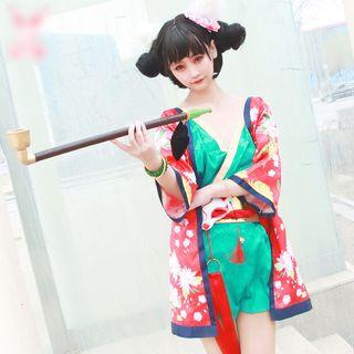 Mikasa White Snake Character Cosplay Costume / Accessory / Set