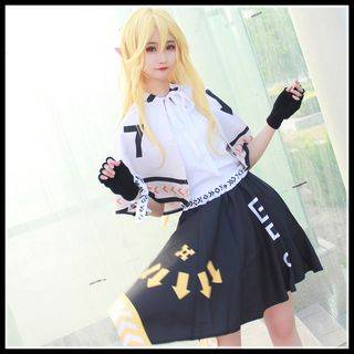 Mikasa Aotu World Character Cosplay Costume / Accessory / Set