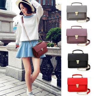 Clair Fashion Faux Leather Shoulder Bag