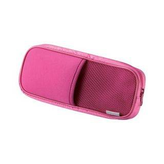 LIFE STORY Mesh Pouch for Computer Accessories Pink - One Size