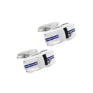 BELEC Fashion High-end Sports Car Cufflinks Silver - One Size
