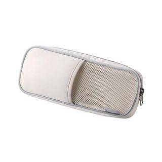 LIFE STORY Mesh Pouch for Computer Accessories White - One Size