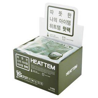 LIFE STORY Set: HEATTEM Series Heat Pack - for Outdoor (10 pcs) Green - One Size