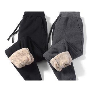 BEEMEN Drawstring Fleece Sports Pants