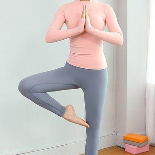 PALSNOW Long-Sleeve Sports Top / Sports Leggings / Set