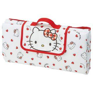 Skater Hello Kitty Outdoor Picnic Mat One Size