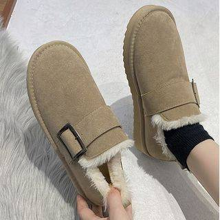 SouthBay Shoes Faux Suede Snow Boots