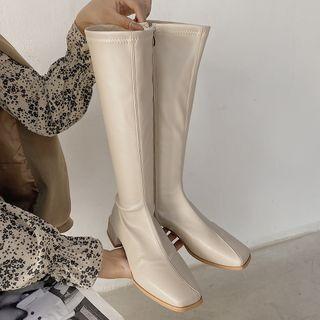 SouthBay Shoes Plain Platform Tall / Short Boots