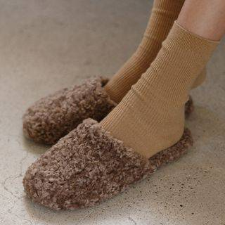 JUSTONE Boucl -Knit Home Slippers