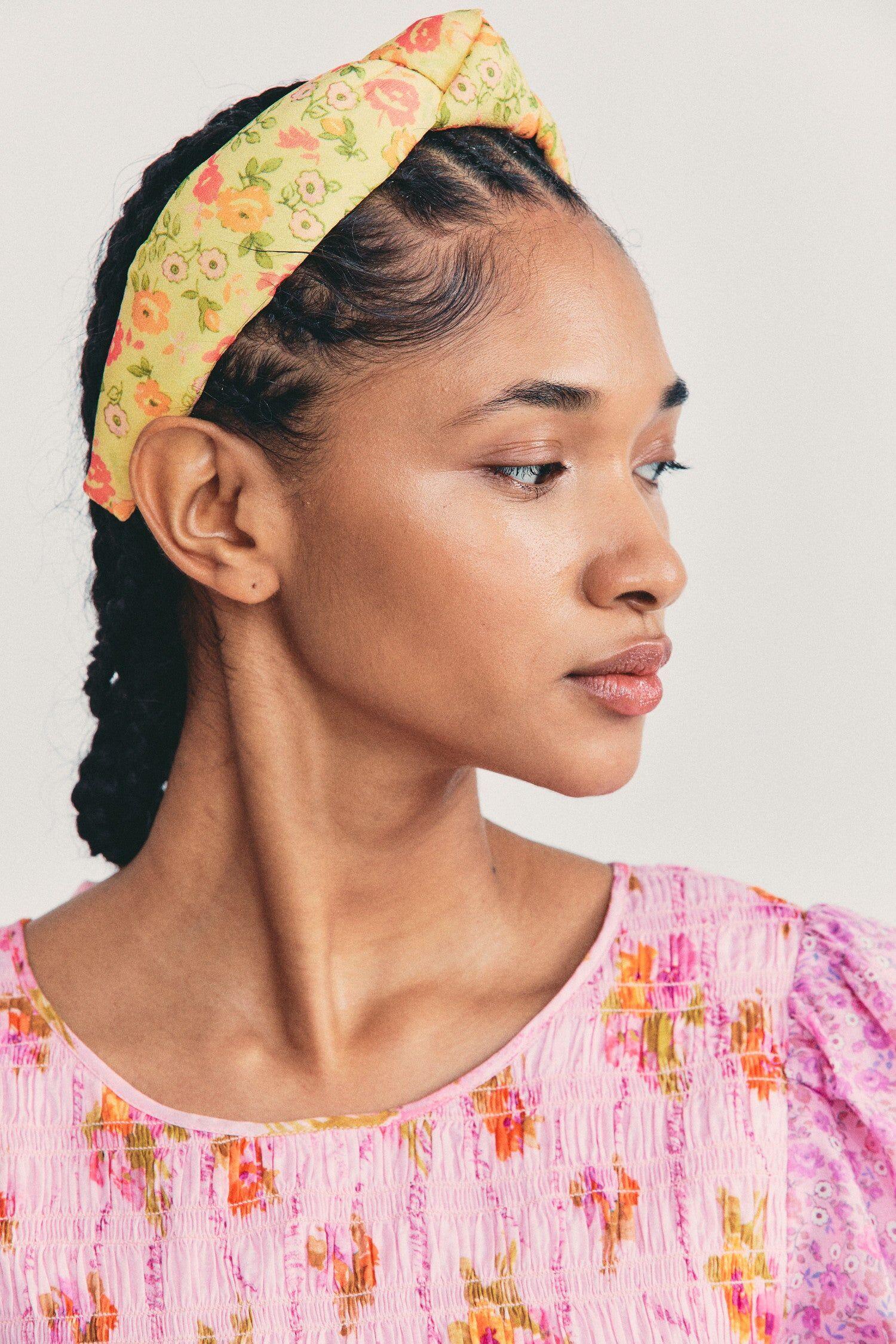 LELE SADOUGHI Women's LoveShackFancy x Lele Sadoughi Knotted Headband