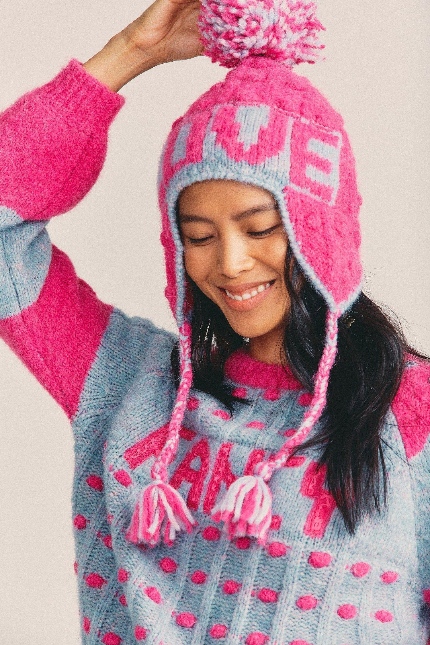 SHANTOU BINLI WEAVING CO. Women's Pierce Beanie Hat