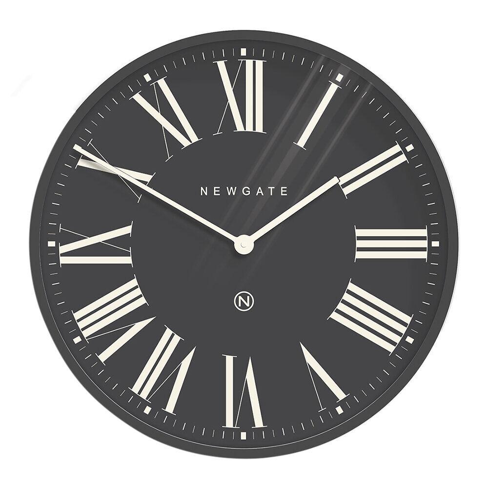 Newgate Clocks - Music Hall Wall Clock - Moonstone Gray Reverse