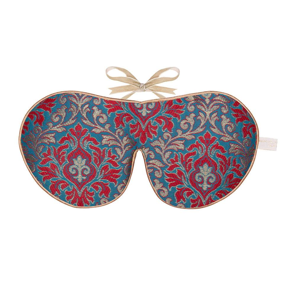 Holistic Silk - Limited Edition Eye Mask - Scarlet Brocade