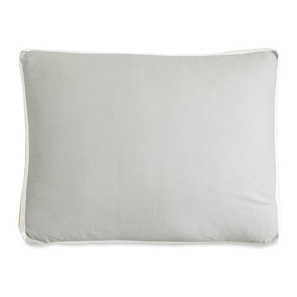 DKNY - Sport Stripe Standard Pillowcase - Silver/Citron