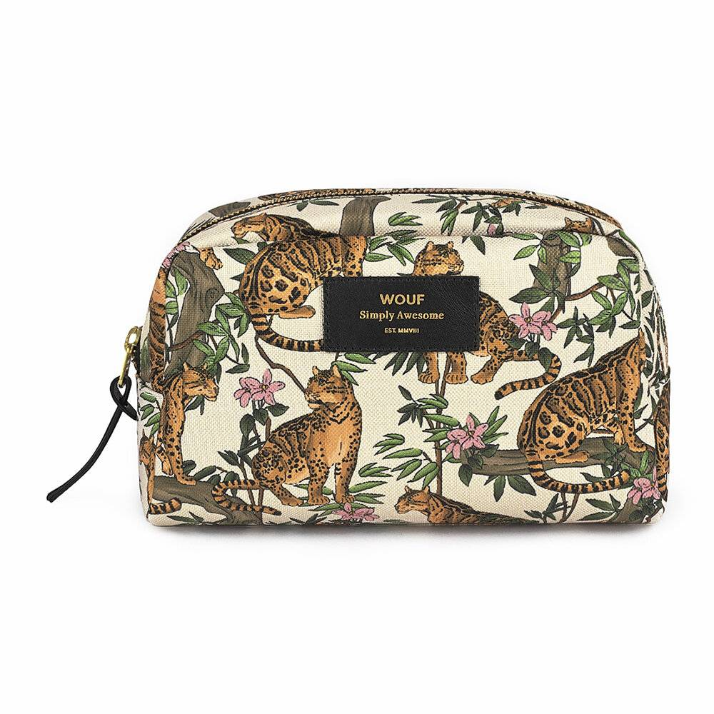 Wouf - Lazy Jungle Cosmetic Bag - Large
