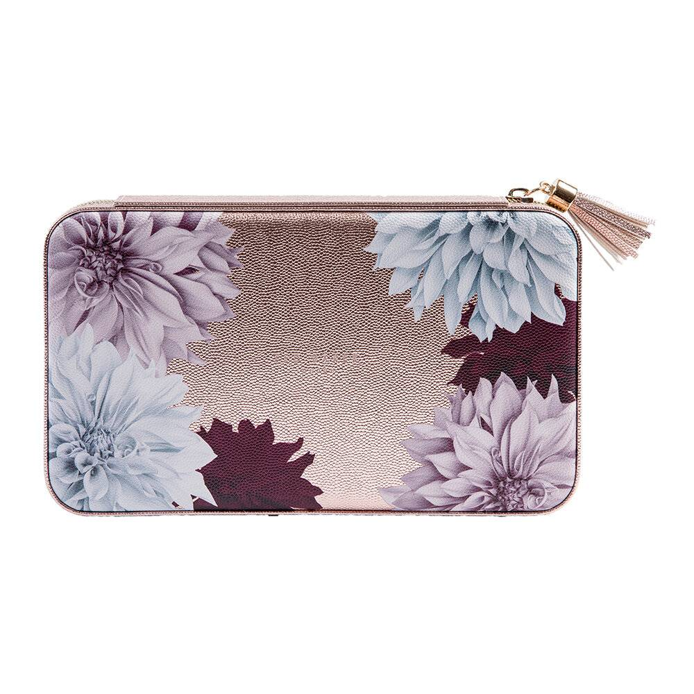 Ted Baker - Large Jewelry Case - Metallic Pink/Clove