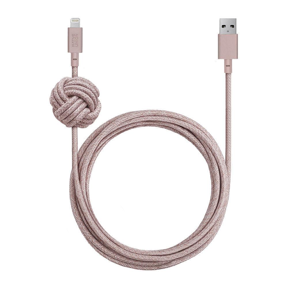 Native Union - Lightning Night Cable - Rose