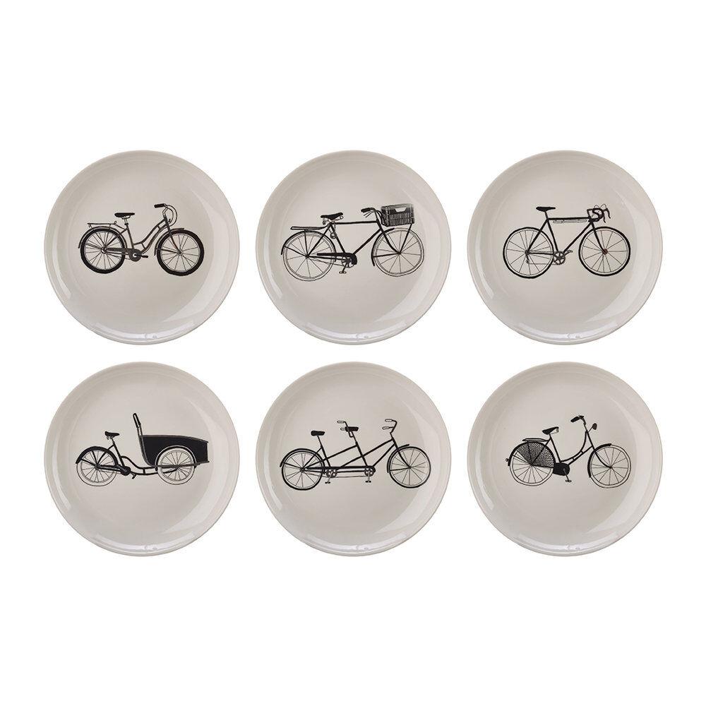 Pols Potten - Bikes Salad Plates - Set of 6