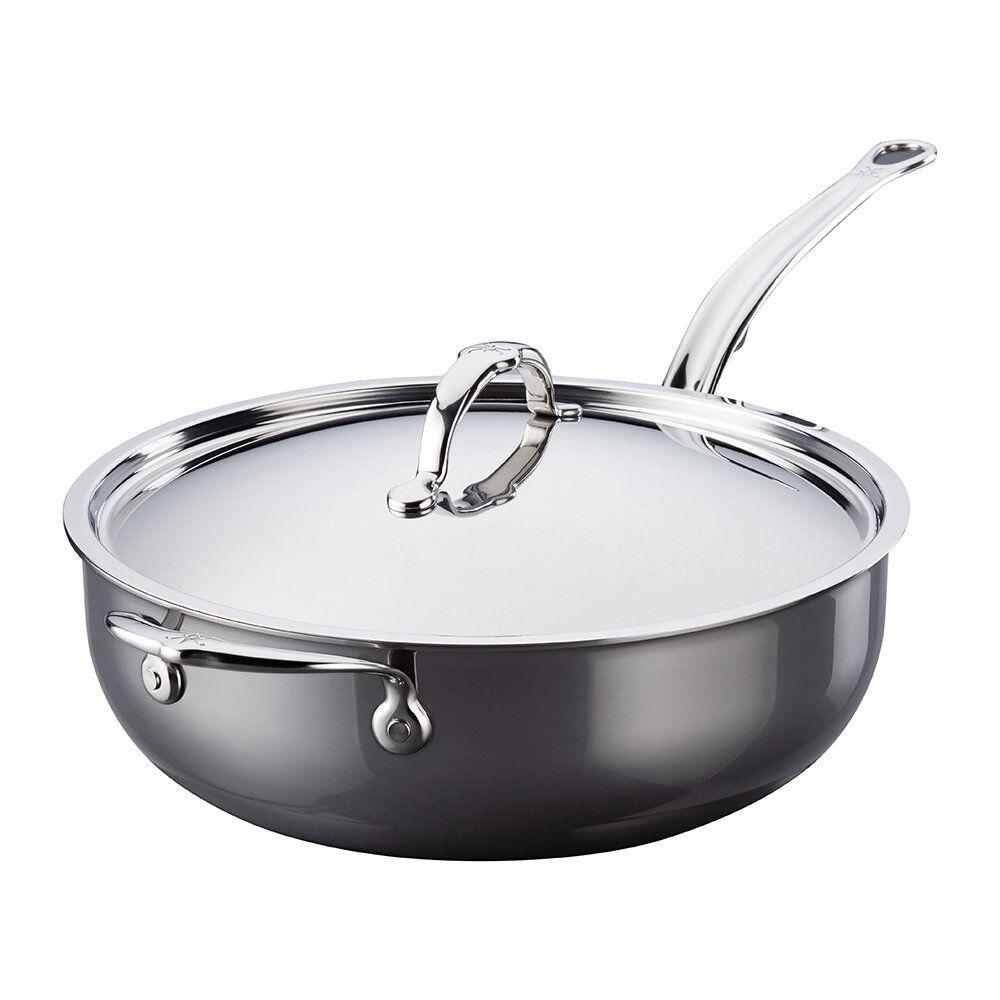 Hestan - Stainless Steel Essential Pan & Lid with Handle - 28cm