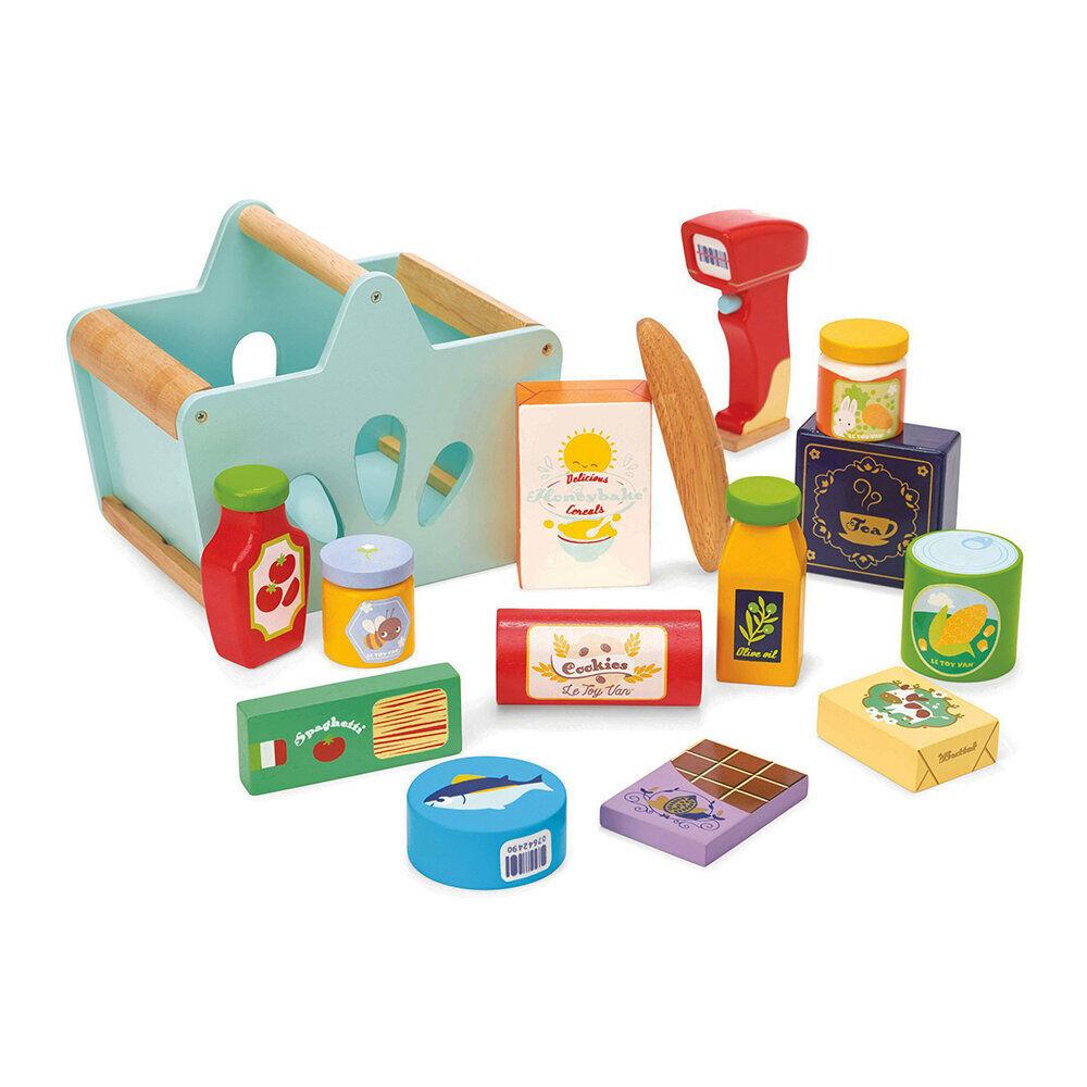 Le Toy Van - Kids Groceries Set & Scanner