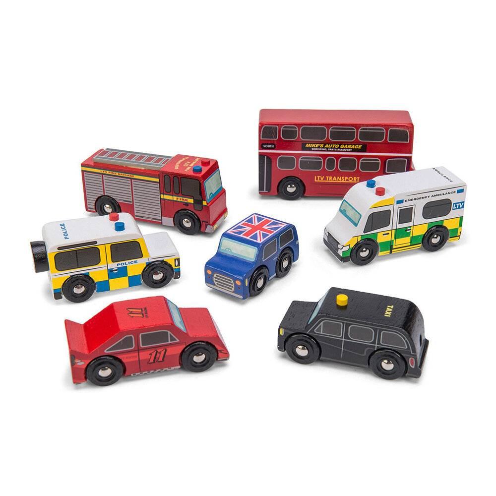 Le Toy Van - Kids London Car Set