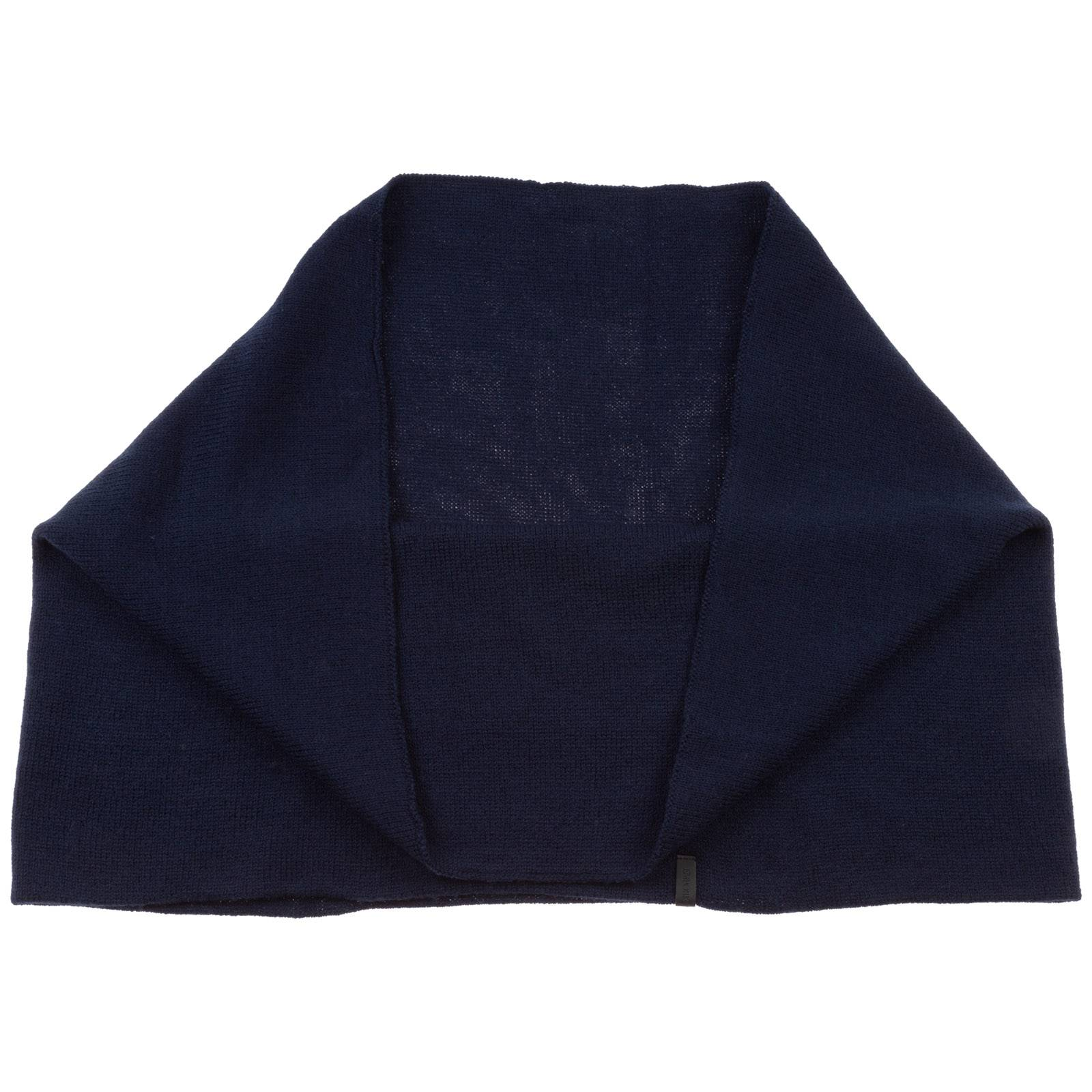 Emporio Armani Women's neck ring loop scarf  - Blue