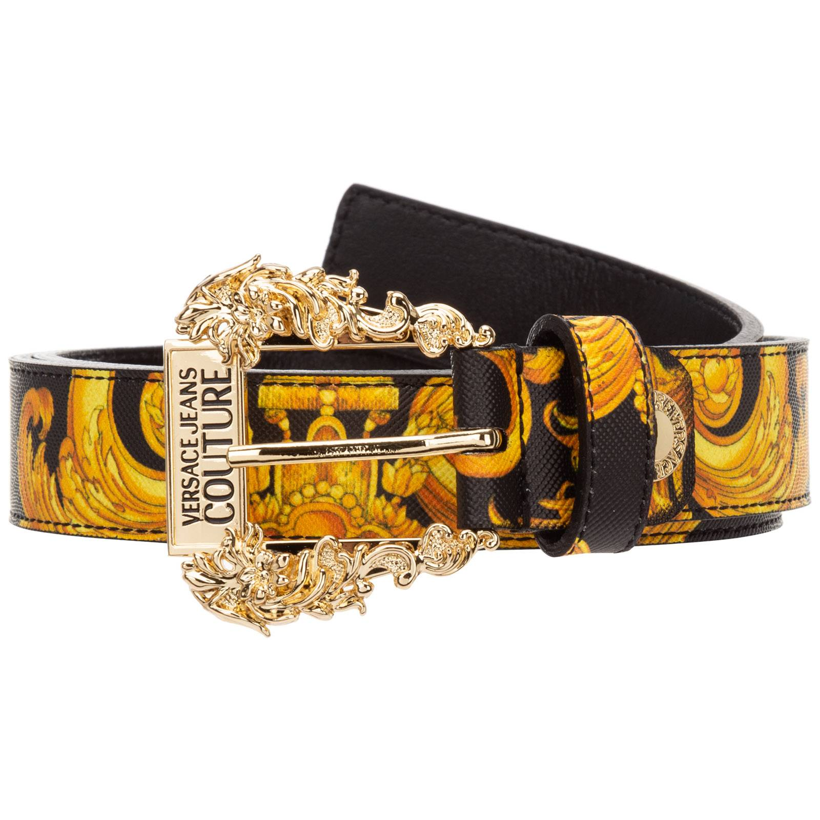 Versace Women's belt baroque  - Black - Size: 85