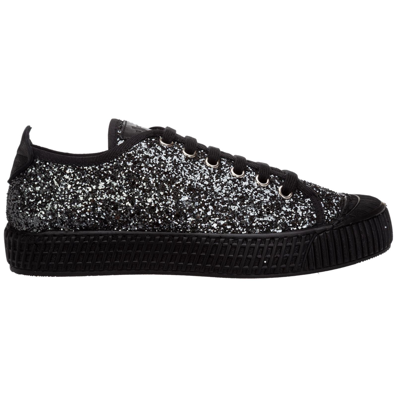 Car Shoe Women's shoes trainers sneakers  - Black - Size: 37.5
