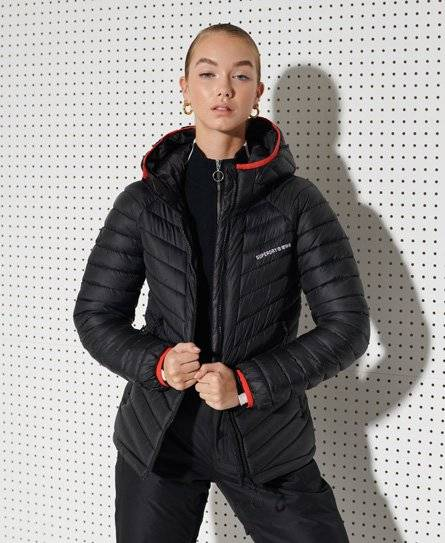 Superdry Sport Alpine Padded Mid Layer Jacket [female]  size: 4;  Black