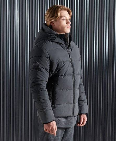 Superdry Ombre Sports Puffer Jacket [male]  size: L;  Grey