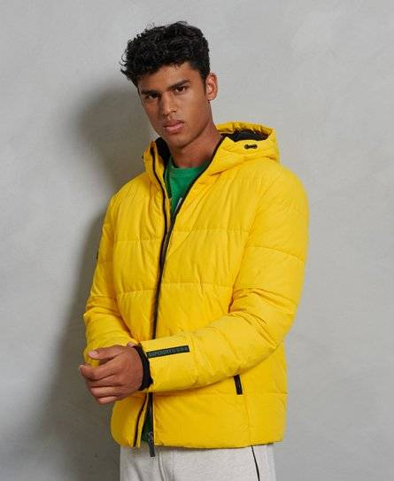 Superdry Sports Puffer Jacket [male]  size: XL;  Yellow