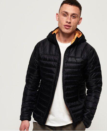 Superdry Core Down Jacket [male]  size: M;  Black