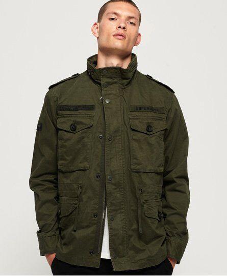 Superdry Rookie Field Jacket [male]  size: 4XL;  Green