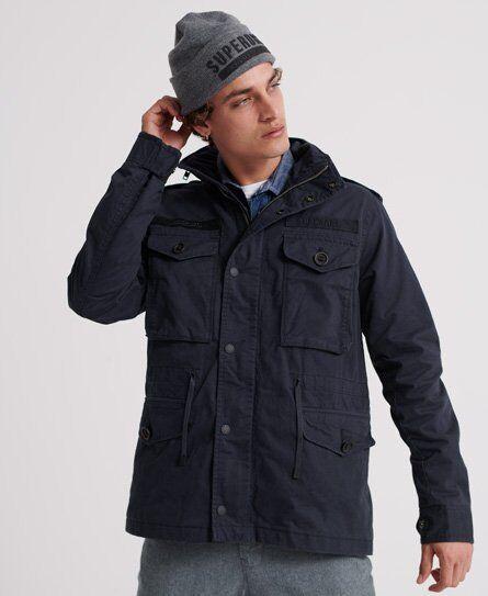 Superdry Rookie Field Jacket [male]  size: XL;  Navy