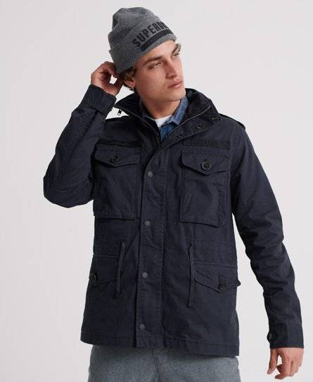 Superdry Rookie Field Jacket [male]  size: 4XL;  Navy