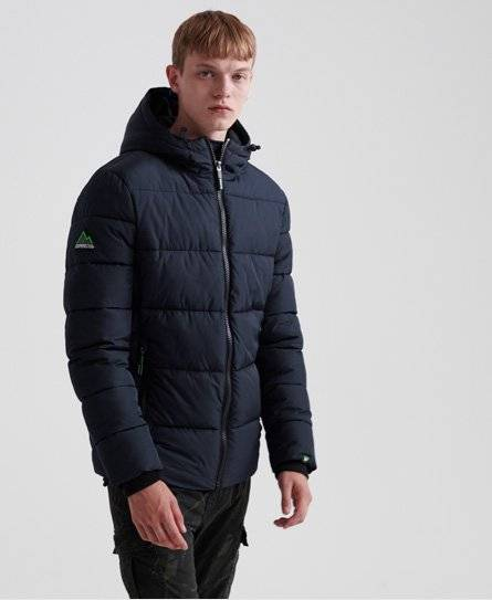 Superdry Sports Puffer Jacket [male]  size: S;  Navy