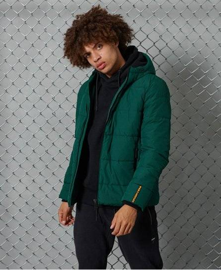 Superdry Sports Puffer Jacket [male]  size: L;  Green
