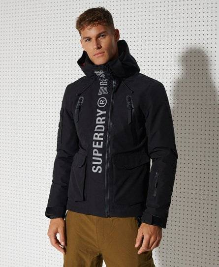 Superdry Sport Ultimate Mountain Rescue Jacket [male]  size: S;  Black