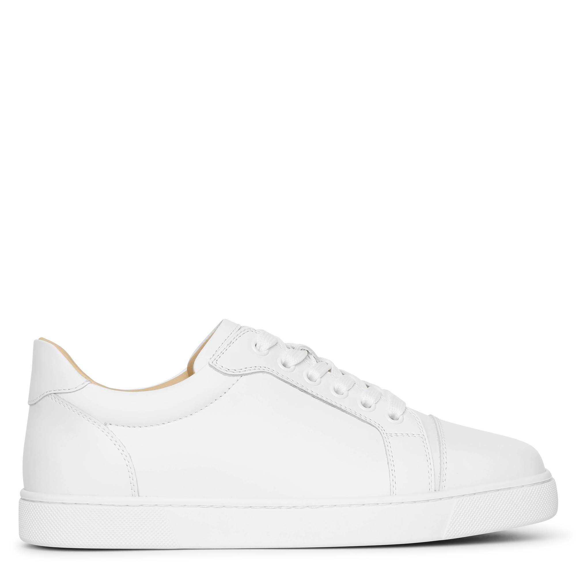 Christian Louboutin Vieira white leather sneakers  - White - female - Size: 37
