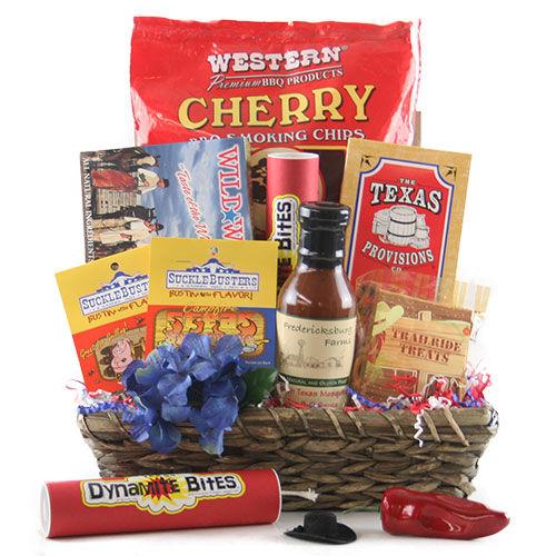 Design It Yourself Gift Baskets Blazin Saddles - Texas Gift Basket