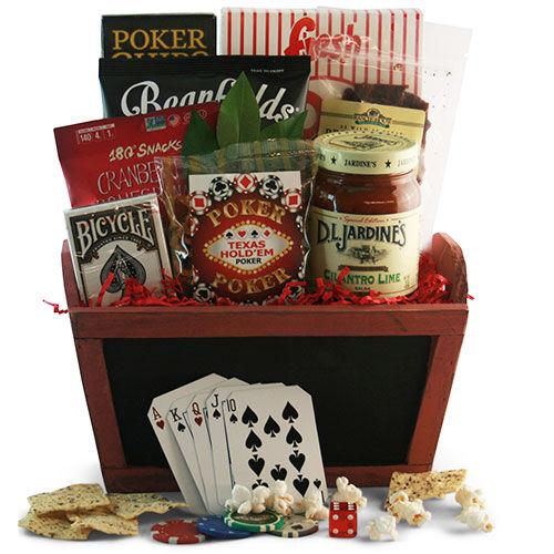 Design It Yourself Gift Baskets Full House - Poker Gift Basket