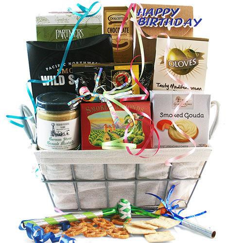 Design It Yourself Gift Baskets Gourmet Birthday - Birthday Gift Basket