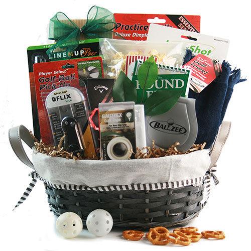 Design It Yourself Gift Baskets The Mulligan - Golf Gift Basket